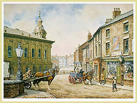 Morning Delivery - a familiar potteries Picture - click for details