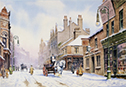Newcastle Snow - a seasonal look to pictures of the potteries click for details